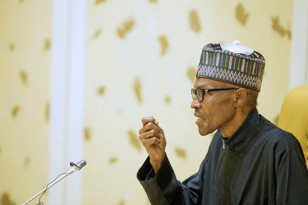 Buhari reacts to Atiku Abubakar's emergence as PDP presidential candidate Buhari gives directives to connect railroads to 36 states