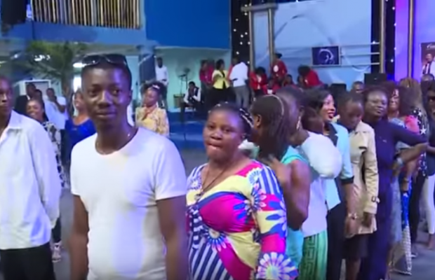 "Warri Pastor asks unmarried female member, ""How many men don chop you?"" (video)"