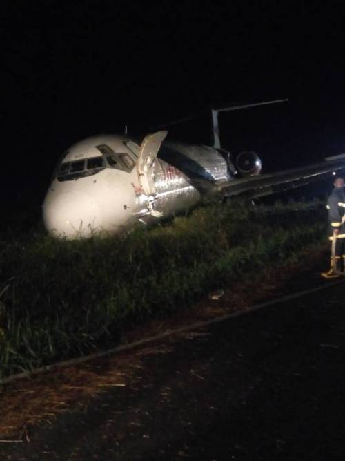 Breaking news: Dana aircraft crashes into village in Rivers State