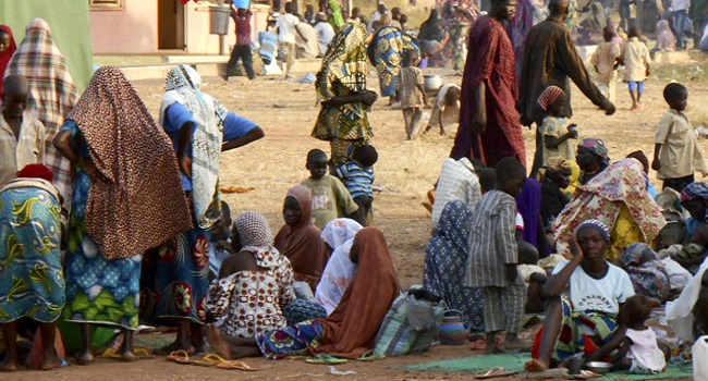 Photo of 6,000 seized smuggled rice released to IDPs