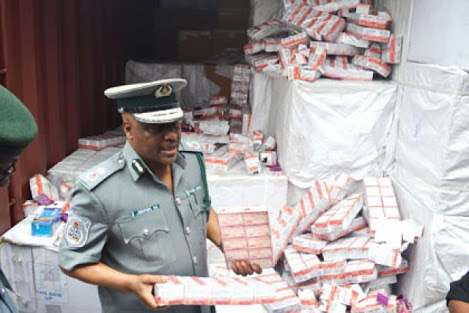 Photo of Nigerian Customs impounds nine containers of Tramadol, Tramaking, others in Rivers State