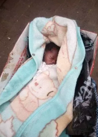 Photo of Shocking Baby abandoned at a Park in Rivers State