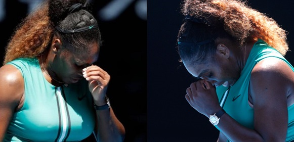 Photo of Serena Williams knocked out of Australian Open