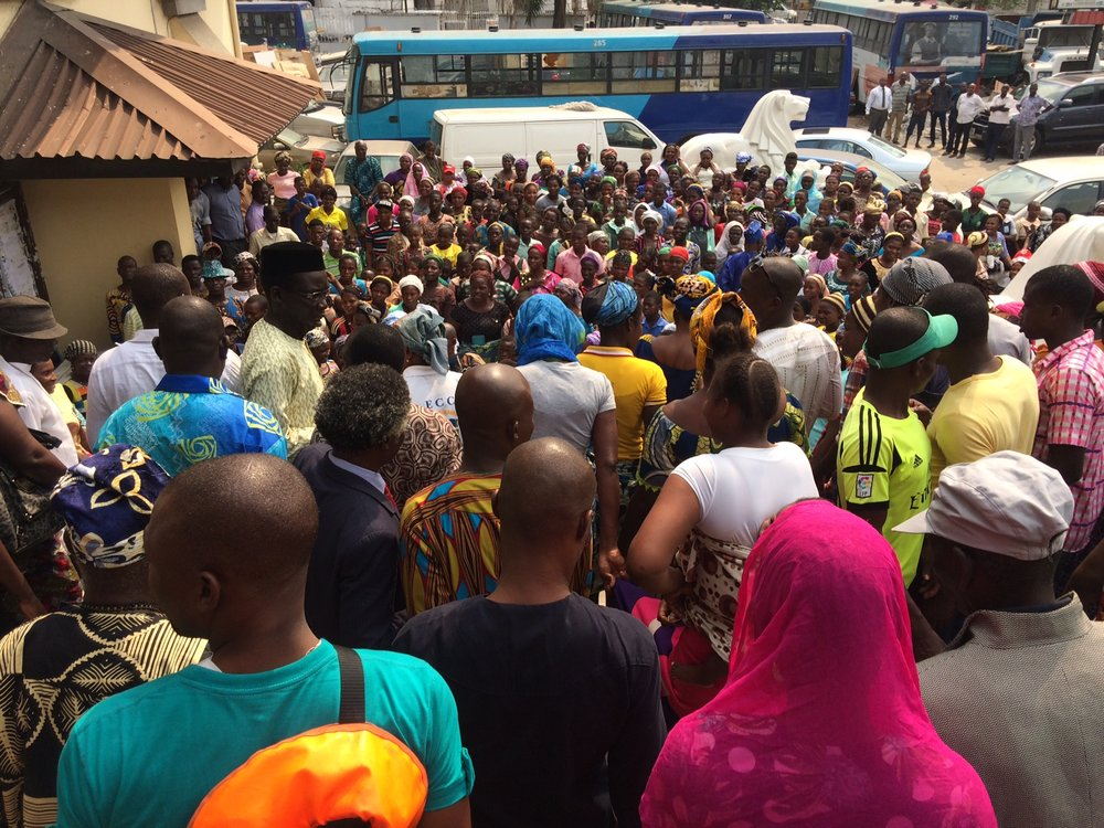 Photo of Communities in Rivers protest alleged planned resumption of SPDC in OML25